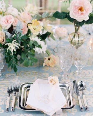 Metallic Details Wedding Theme
