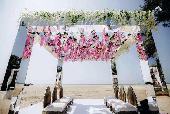 Mirror Wedding Theme