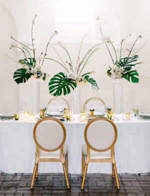 Modern Art Wedding Theme