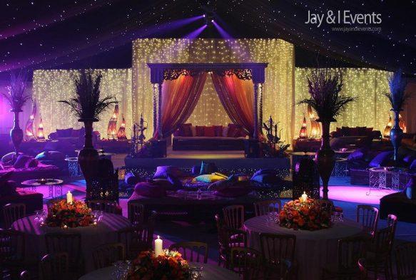 Mughal Elegance Wedding Theme