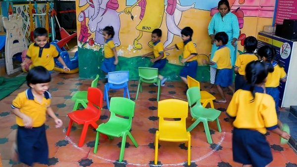 Musical Chairs Game