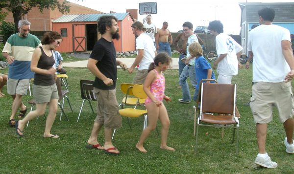 Musical Chairs Outdoor Game
