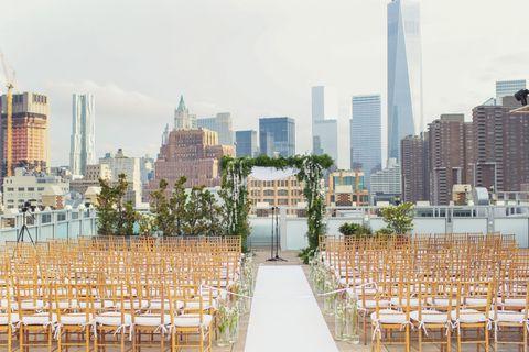 NY City Wedding Theme