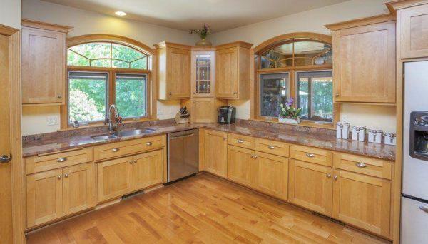 Natural Hardwood Maple Cabinet