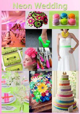 Neon Wedding Theme