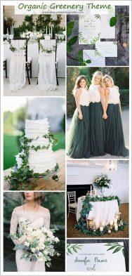 Organic Wedding Theme