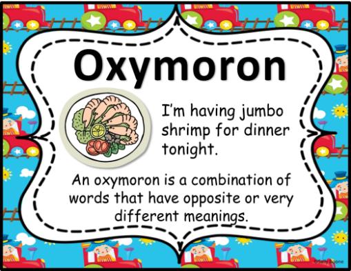 Oxymoron Figurative Language
