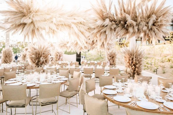 Pampas Grass Wedding Theme