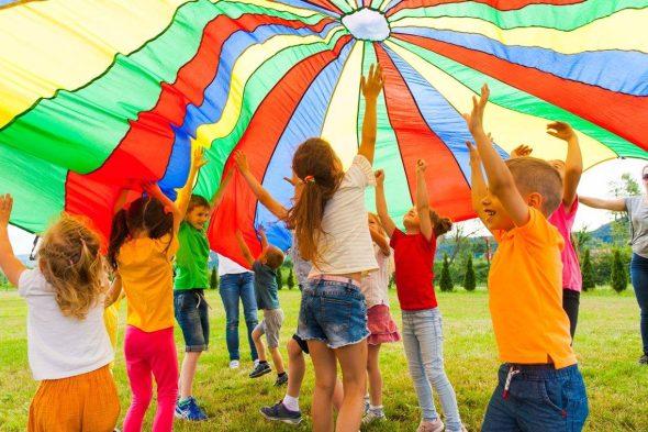 Parachute Outdoor Game