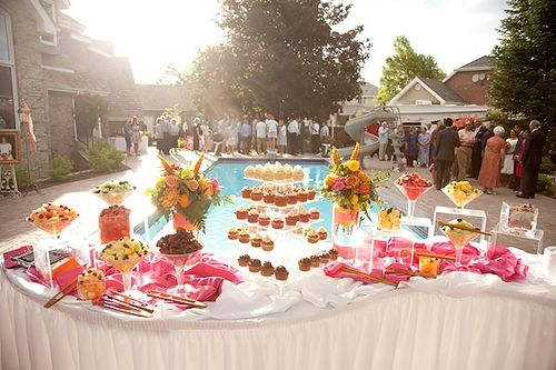 Party Cool Wedding Theme