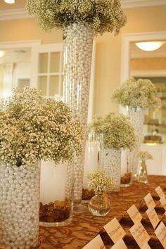 Pearl Decor Wedding Theme
