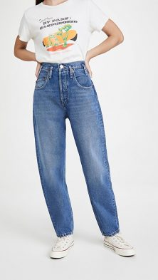 Pegged Jeans