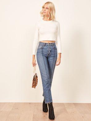 Pintuck Jeans