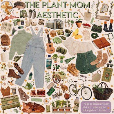 Plant Mom Aesthetics