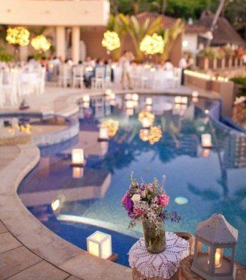 Poolside Fun Wedding Theme