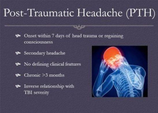 Post Traumatic Headaches