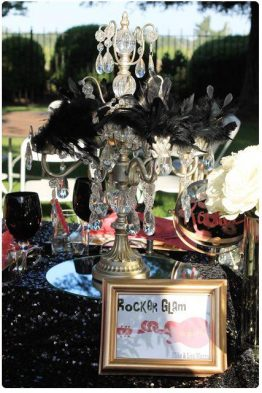 Rock Glam Wedding Theme