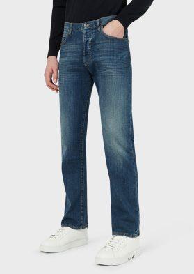 Sandblasted Jeans