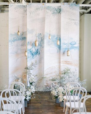 Sculpture And Fine Art Wedding Theme