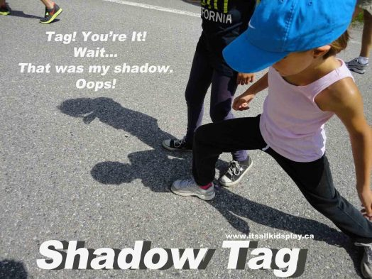 Shadow Tag Outdoor Game