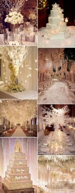 Shimmer and Bling Wedding Theme