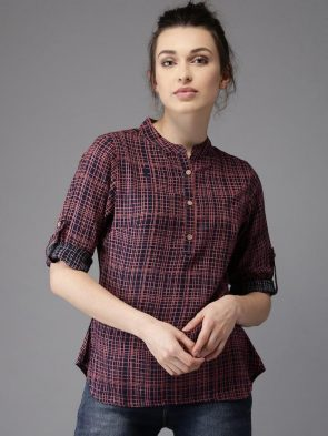Shirt Style Top