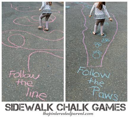 Sidewalk Picasso Outdoor Game