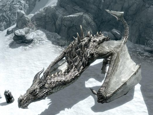 Skyrim Dragons Dragon
