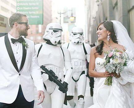 Star Wars Wedding Theme