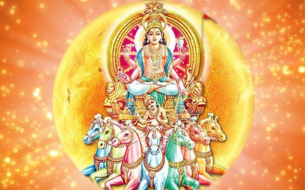 Surya Hindu God