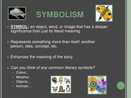 Symbolism Figurative Language
