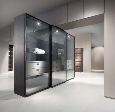 Transparent Glass Cabinet