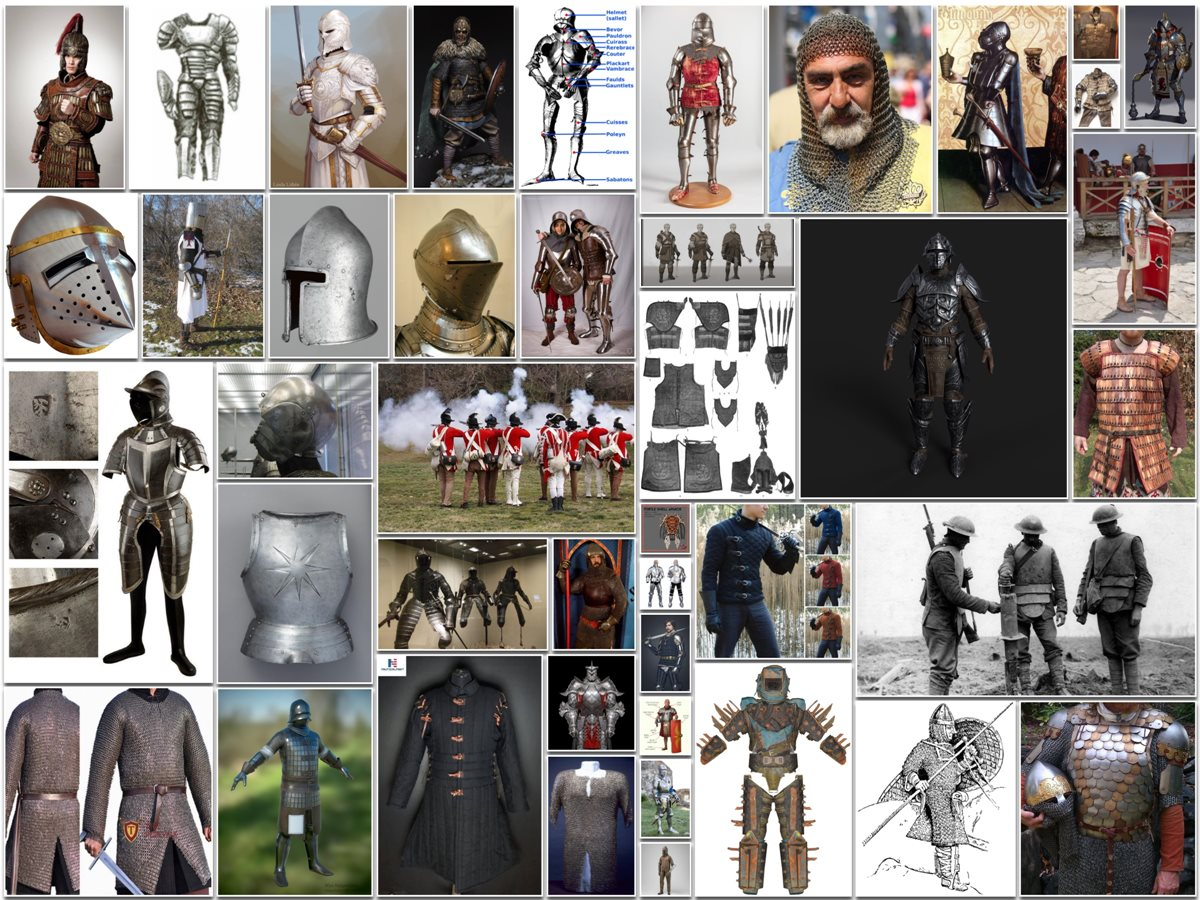 Types of Armor