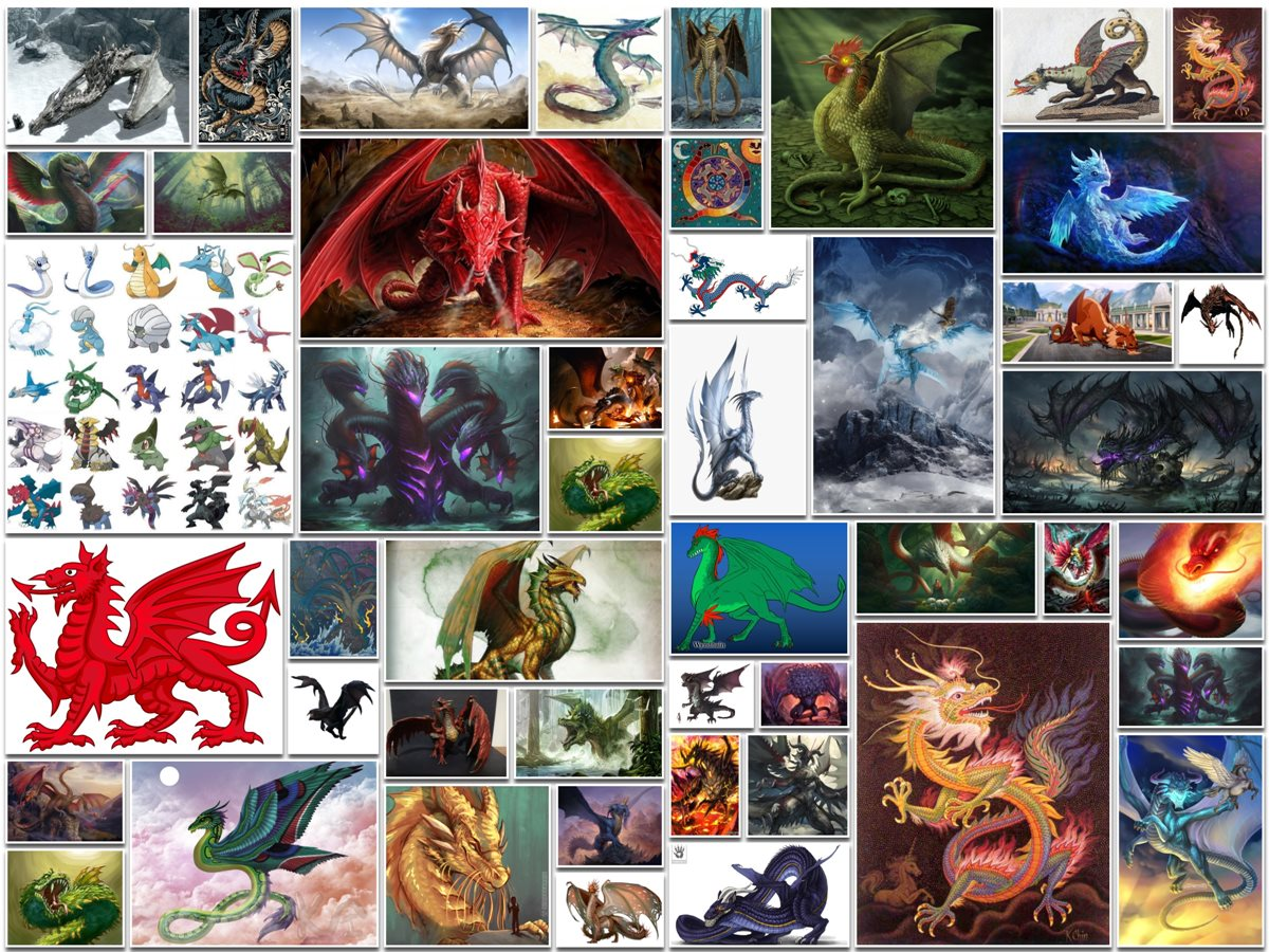 Types of Dragons