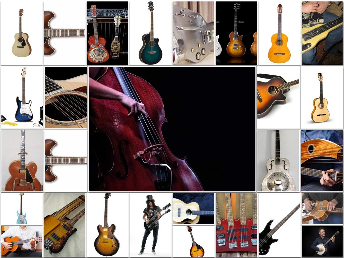 Types of Guitar