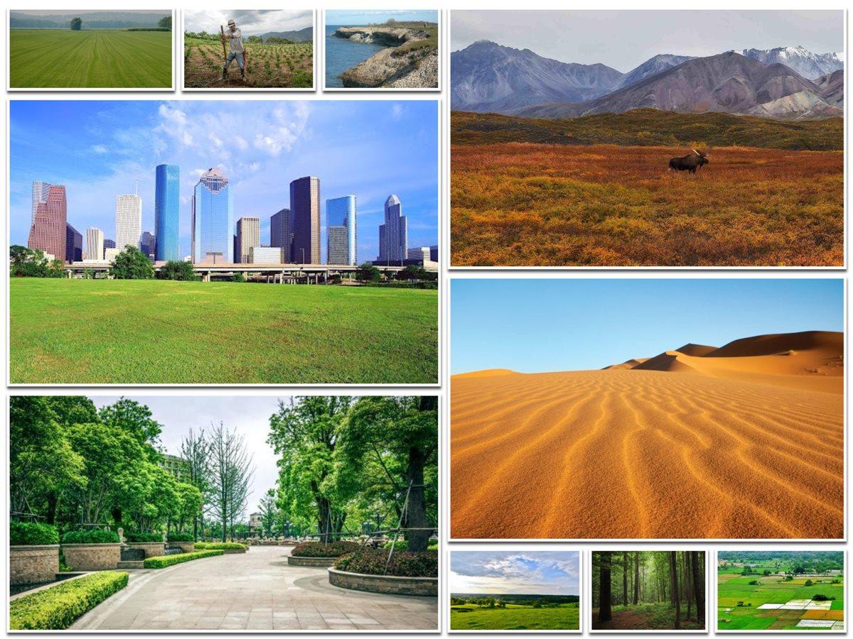 Types of Land