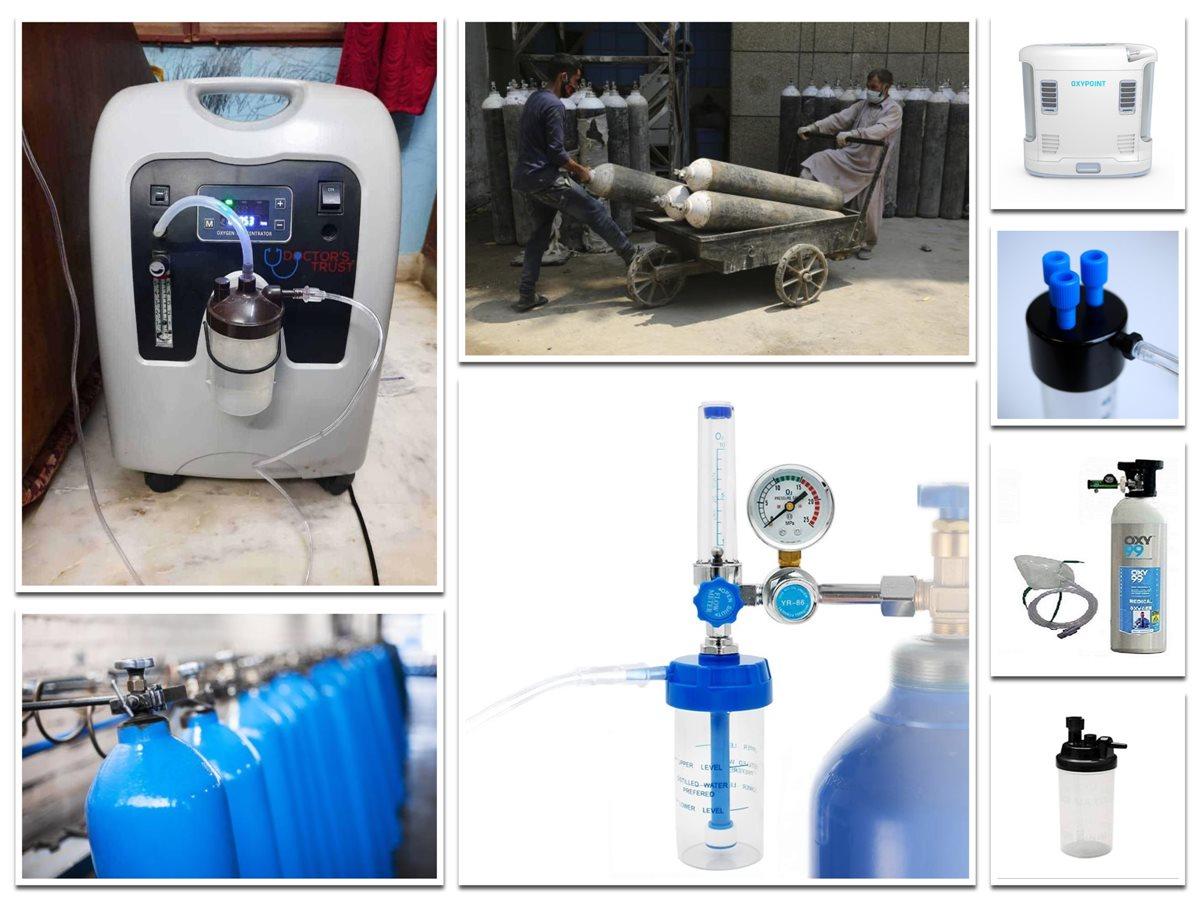 Types of Oxygen Cylinder