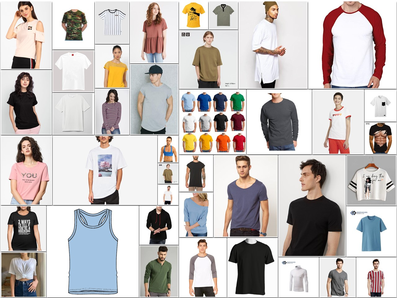 Types of T Shirt