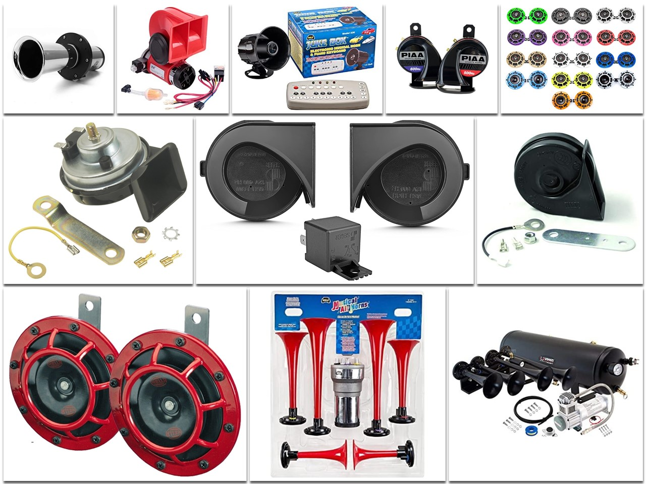 Types of Vehicle Horn