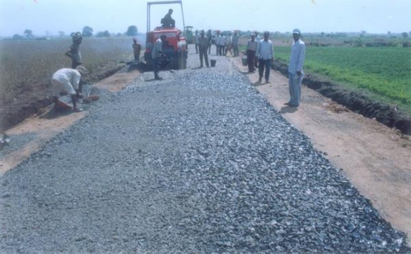 Water Bound Macadam Roads