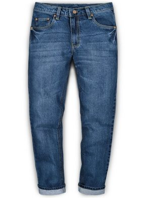 Whisker Washed Jeans