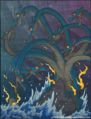 Yamata No Orochi Dragon