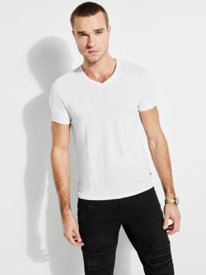 Yoke Neck T Shirt